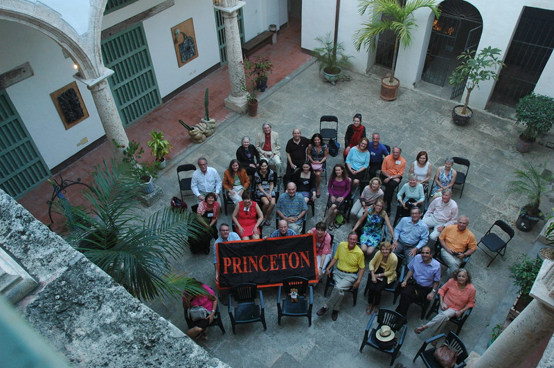 Princeton group in the Ceramics Museum, Havana - Leslie Rowley