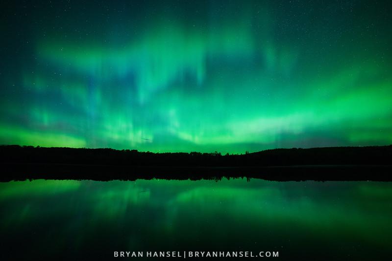 Northern Lights over Mink Lake