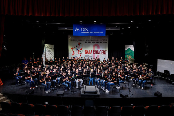 Asian Middle School Honor Band