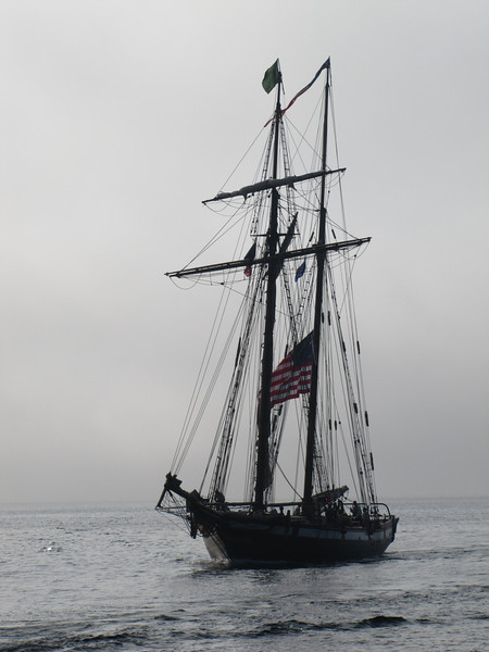 Lynx was designed and built to interpret the general configuration and operation of a privateer schooner or naval schooner from the War of 1812.