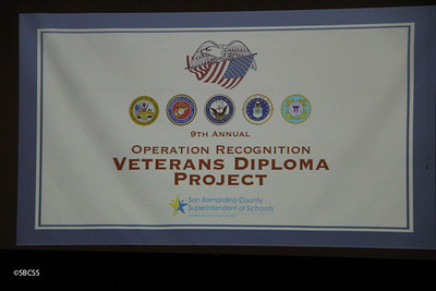 2017 Veterans' Diploma Project