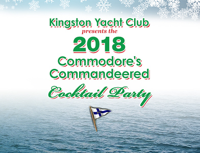 Kingston Yacht Club Cocktail Party 2018
