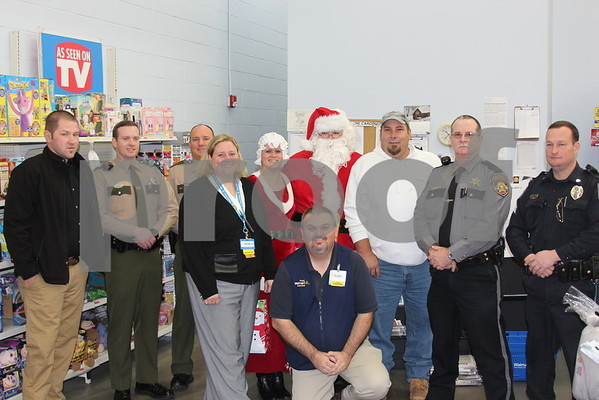 Elks Lodge Shop with a Cop - December 2014