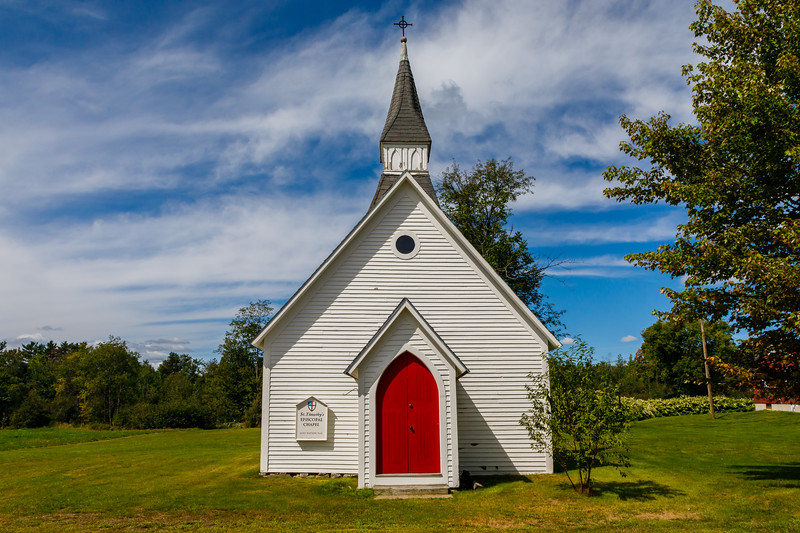 St Timothy Episcopal Chapel along the Lost Nation Road