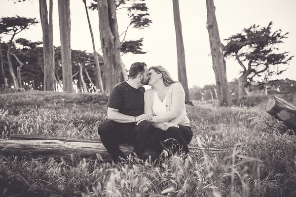 Tiffany and Israel's Engagement Sutro Baths