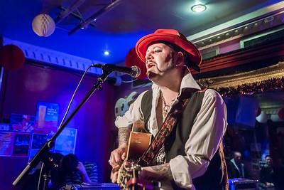 Ledfoot + Paul-Ronney Angel, Trinity Bar Harrow, Dec 2017