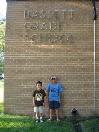 2011-08-17 First Day of School