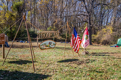 Troop 50 Natural Shelters - 2016