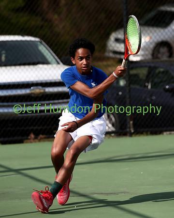 UGHS JV Tennis at Heritage 3-27-2017