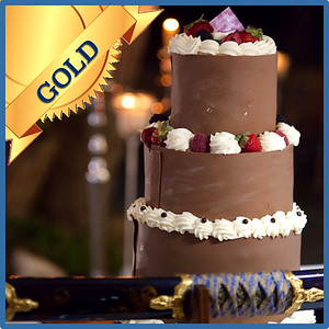 42104 Wedding cake Gold