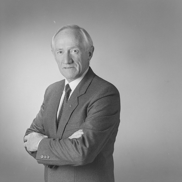 Portrait of Colin Holmes taken on 11th March 1996 by photographer Heide Smith.