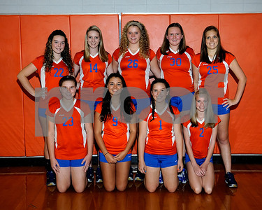 Marshall County 2012 Volleyball Groups, Teams & Buddies, August 15, 2012.