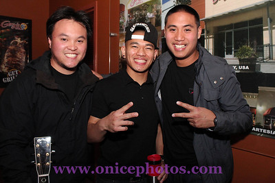 JVoqalz, Jay Marquez and Rollie Beats at Gerry's Grill