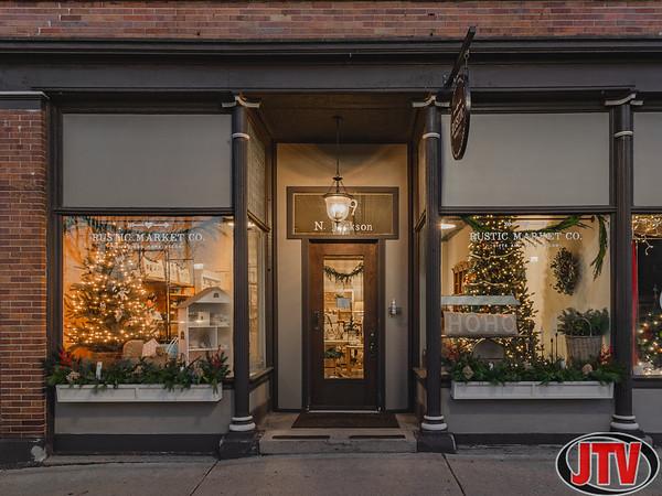 Downtown Jackson Christmas Storefronts 12-20