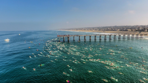 2018 Dwight Crum Pier-to-Pier Swim