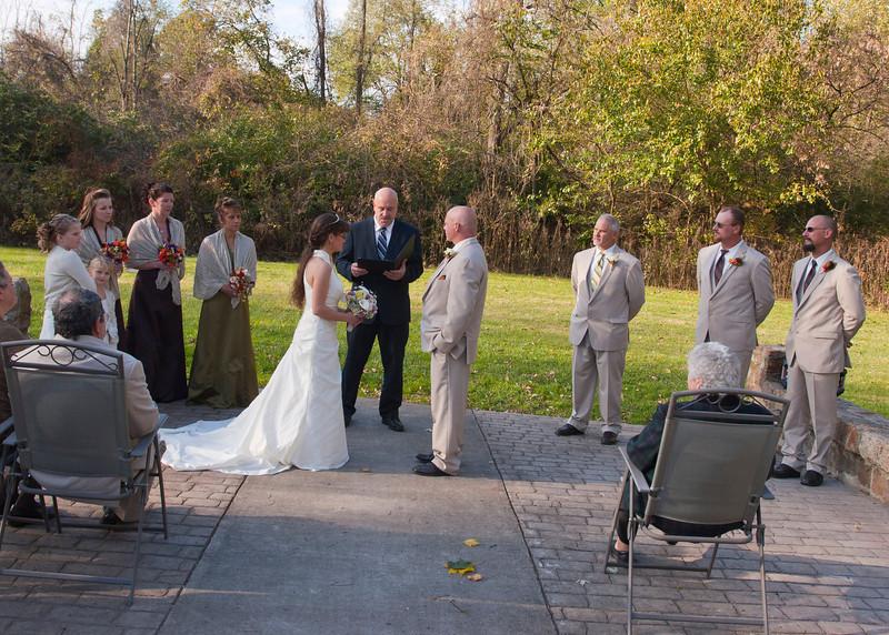 Wedding Procession, Stone Arch Bridge Lewistown, PA img_6077H.jpg