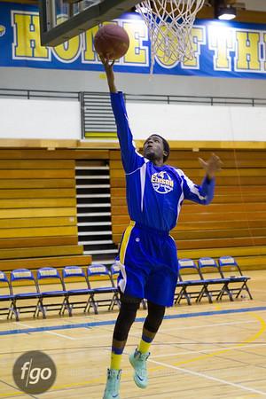 12-13-13 Minneapolis Roosevelt v Minneapolis Edison Boys Basketball