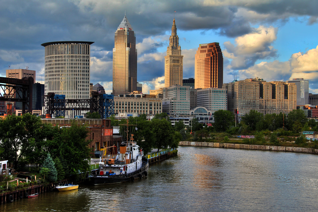 20x30x1.5 Canvas Print to be up at The Nest in Tremont in October<br /> <br /> 9/16/11<br /> <br /> I really like Cleveland