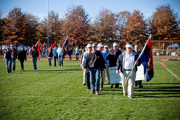 Alumni Flag Parade