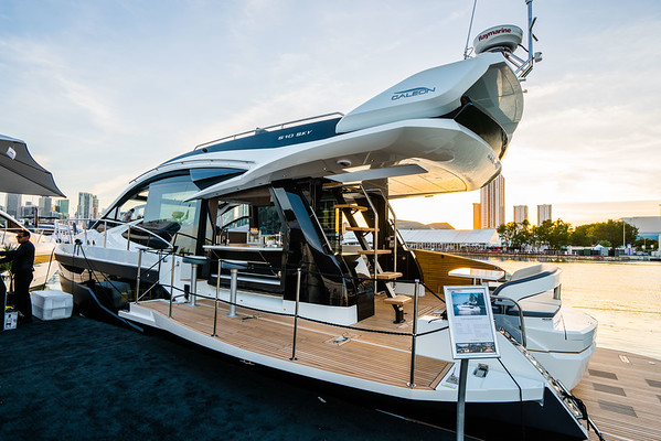 2019 Galeon VIP Event at Miami Yacht Show