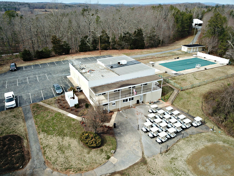 Tract 1 - clubhouse and pool