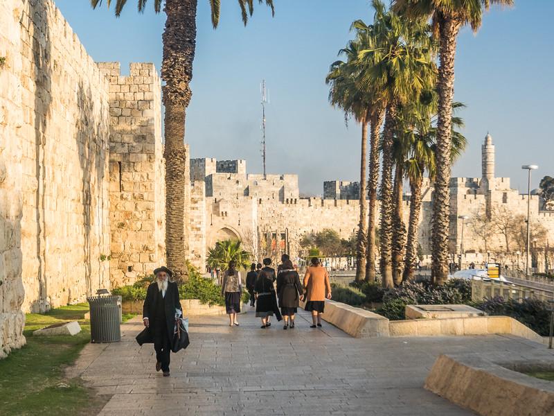 Outside the City Walls, Jerusalem