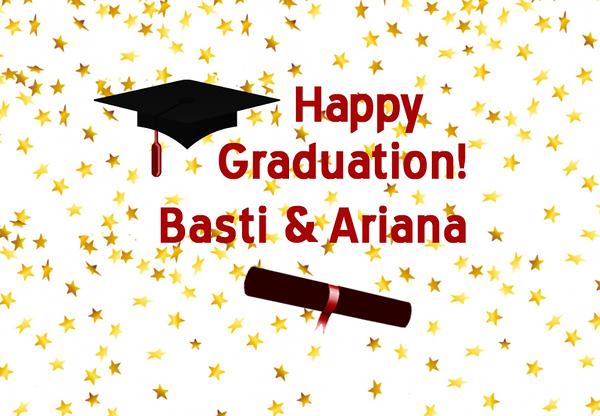 Ariana and Basti Graduation Party