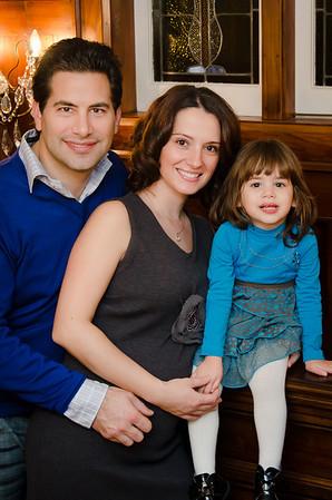 Battaglin Family - Winter 2012
