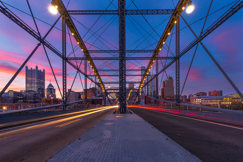 """""""Smithfield Street Symmetry"""" - Pittsburgh, South Shore   Recommended Print sizes*:  4x6  