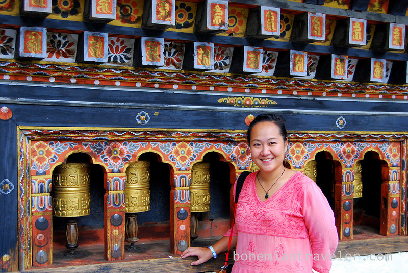 Juno with prayer wheels.jpg
