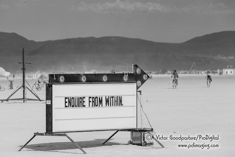 Burning Man humor is deep.