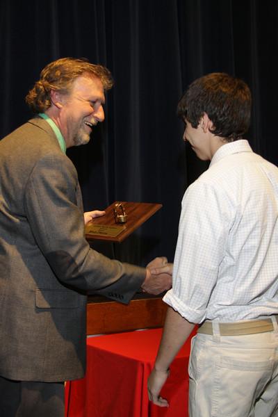 Awards Night 2012 - Golden Spark Lighter Award (Welding Student of the Year)