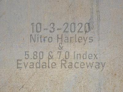10-24-2020 Evadale Raceway 'Nitro Harleys & Index Racing'