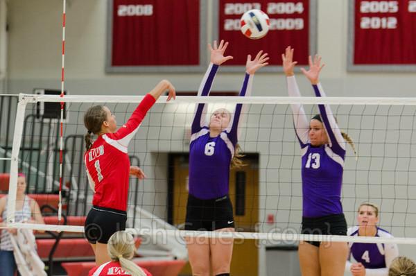 9/14/13 Volleyball vs. Goshen