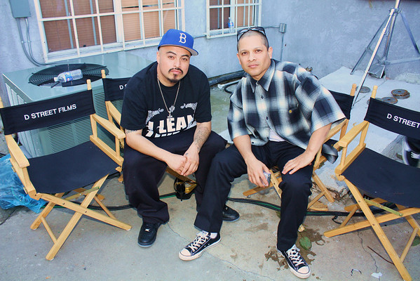 "ON SET OF FILM ""LEAN LIKE A CHOLO"""