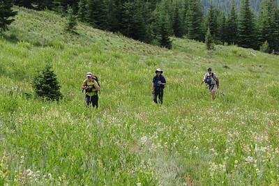 Elkhorns - Elkhorn Mt. & Twin Lakes - July 2012