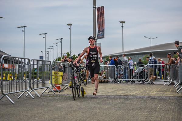 British Triathlon Super Series - Men
