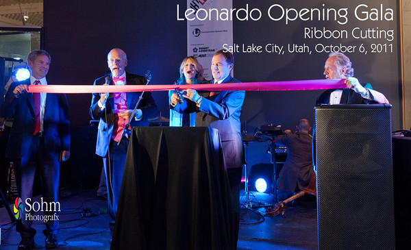 Leonardo Gala Ribbon Cutting