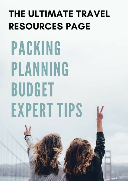 ultimate travel resources page