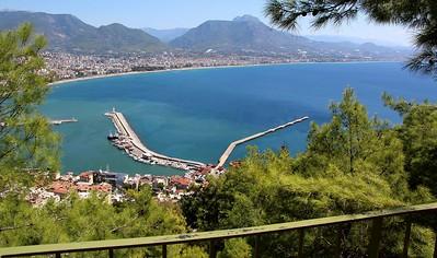 Turska - Alanja, 1. deo: Grad, Damlatas pecina, zicara, tvrdjava, Crvena kula, brodogradiliste, 18.9.2018.