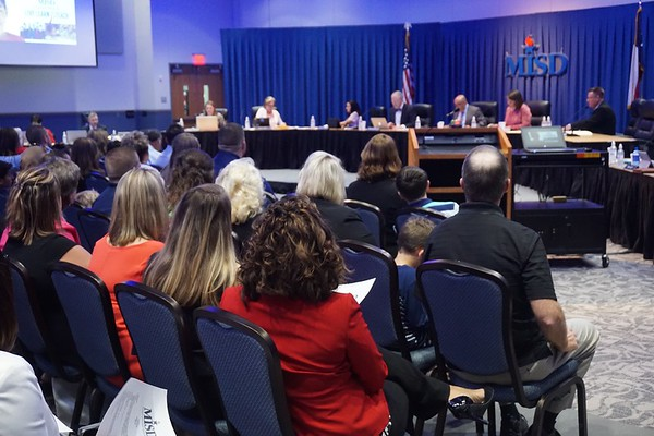 May 23, 2017 Regular MISD School Board Meeting