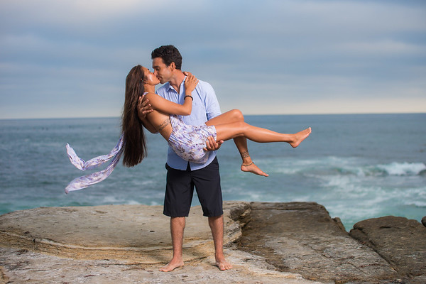 Windansea Sunset Engagement