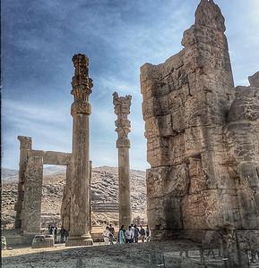 Persepolis og Naqsh-e-Rustam (kongegravene )