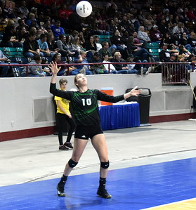 Fleming 1A State Volleyball
