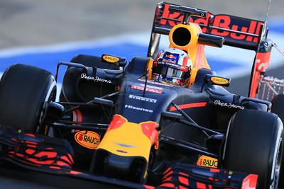 2016 F1 Silverstone Test