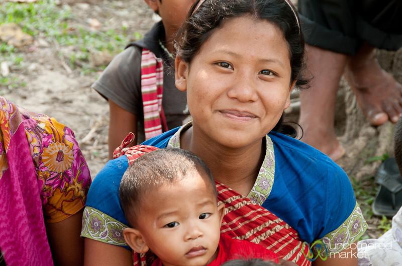 Sibling Love - Garo Village near Srimongal, Bangladesh