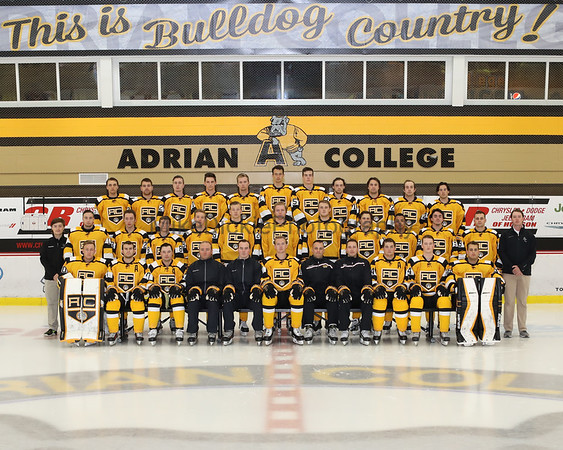 Adrian College Hockey team photos 2017-2018