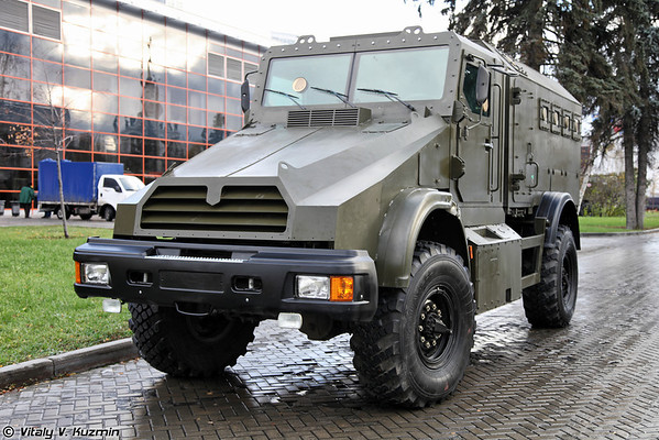 Gorets-K MRAP vehicle