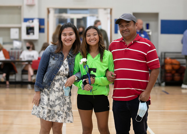Trinity 9th Grade Volleyball  Recognition Night