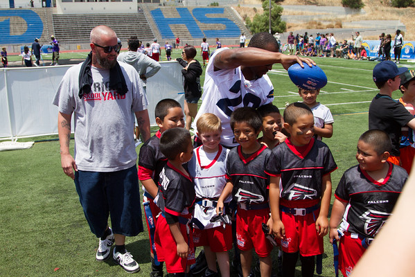 NFL FlagSD Play60 NFL Player Day 2
